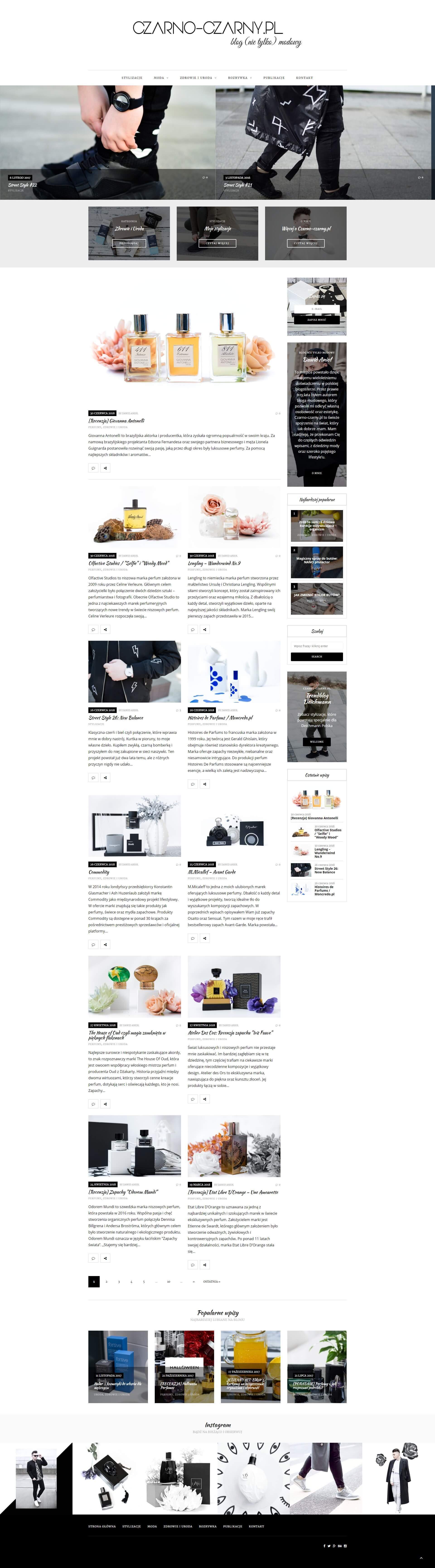 Blog modowy Dawid Anioł 8