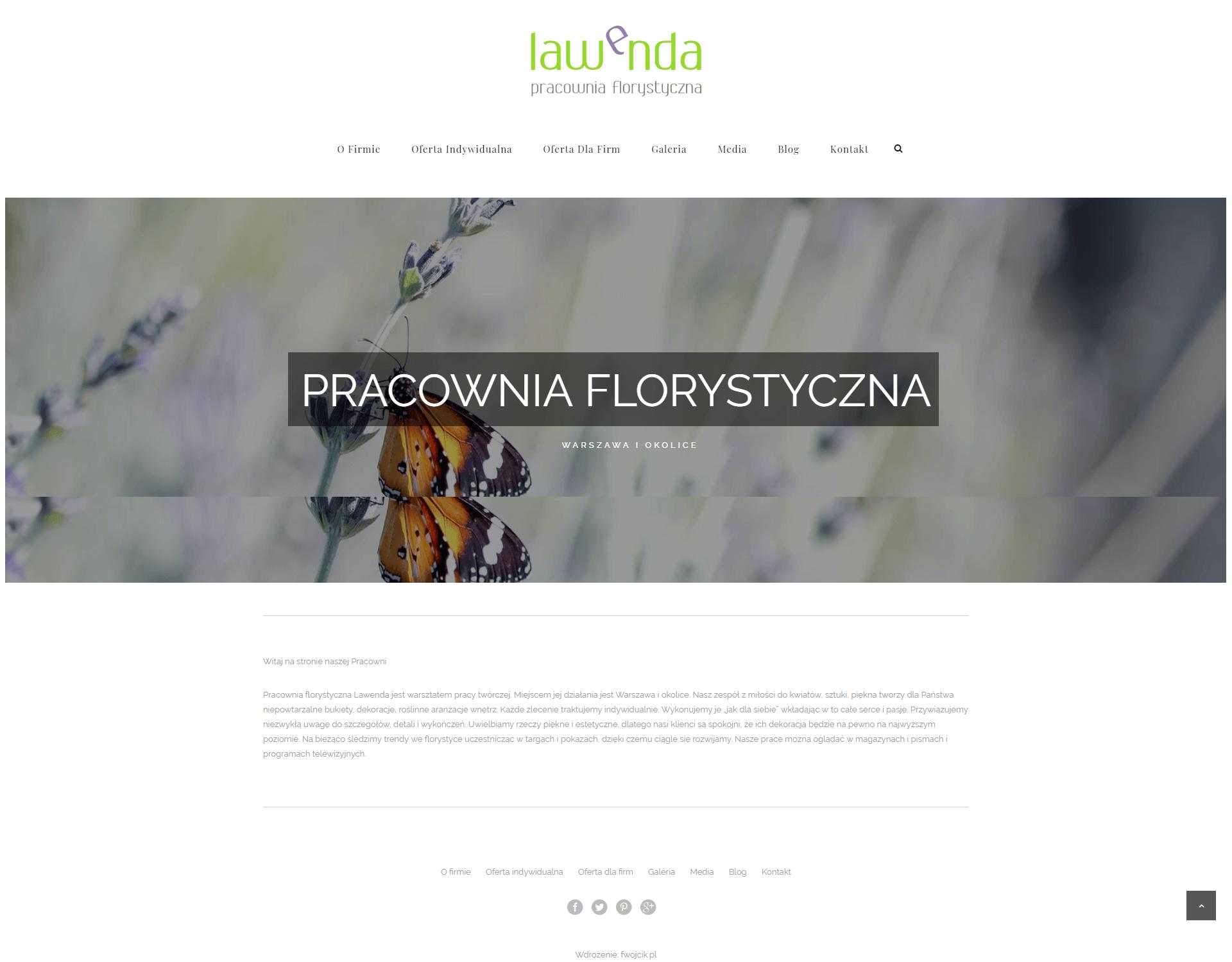Lawenda - pracownia florystyczna 1